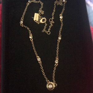 NWT coach gold necklace